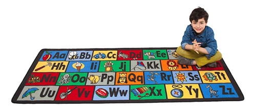 Learn the ABCs Play Carpet - 79 in. x 36 in.