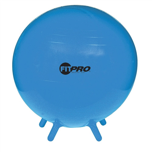 Fitpro Ball Stability Legs Blue 55cm Grade 3 And Up