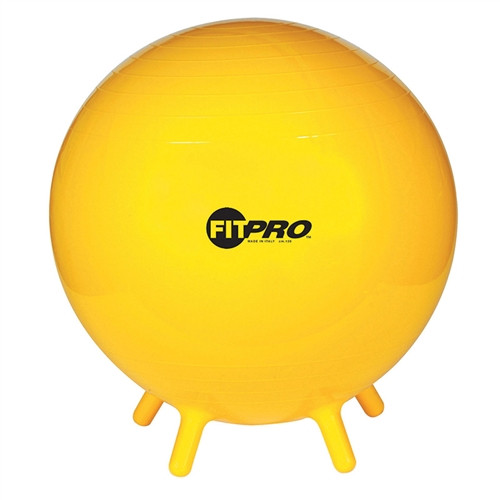 Fitpro Ball Stability Legs Yellow 65cm Gr 5 And Up
