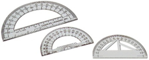 6 Inch Protractor by Charles Leonard