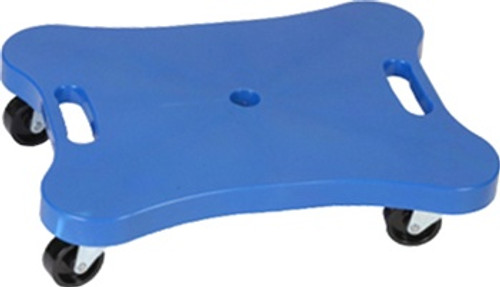 Contoured Plastic Scooter With
