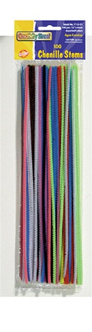 Chenille Stems Assorted 12 Stems