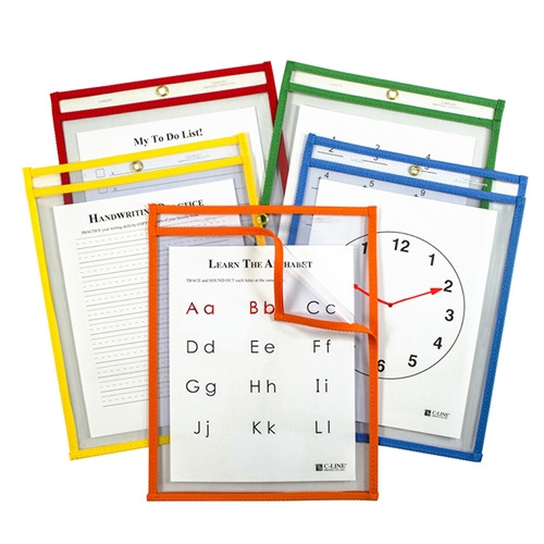 Easy Load Pockets Primary Colors 5 Pk