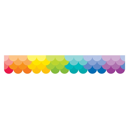 Painted Palette Multi Ombre Border - 2.75 in.