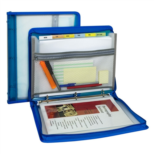 Ring Binder and Expanding File Storage System - 8.5 in. x 11 in.