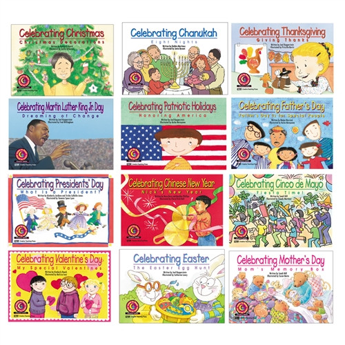 Holiday Series Variety Pack 12-Set Of Books 1 Each 4522-4533