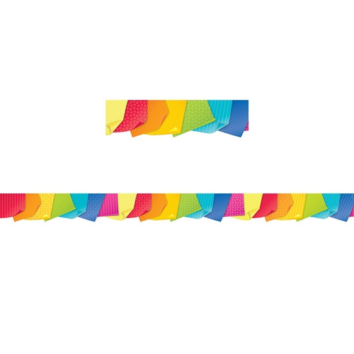 Bold Bright Sticky Notes Border - 2.75 in.