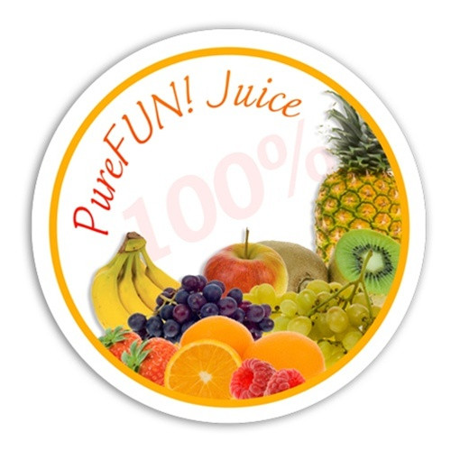 PureFUN! Mountain Berry Flavored 100% CLEAR Juice Blend Concentrate- FULL CASE