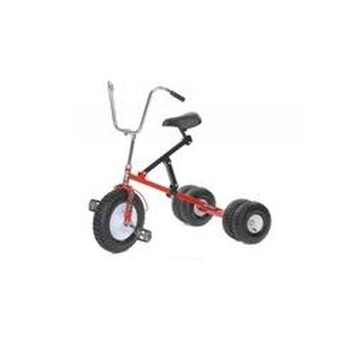 Dirt King Big Kids Dually Red Tricycle