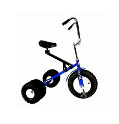 Dirt King Big Kids Dually Blue Tricycle