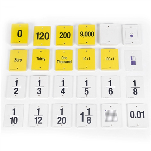 Fun Empty Number Line Cards Only Gr 4-5