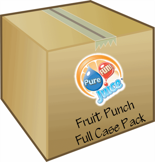 PureFUN! Fruit Punch Flavored 100% Juice Blend Concentrate-FULL CASE