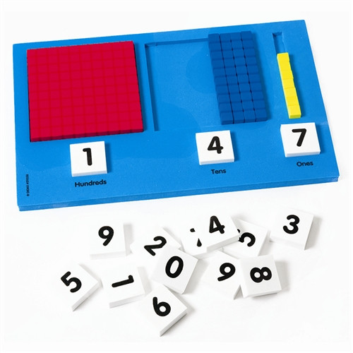 Base Ten Place Value Frame - 10 in. x 6 in.