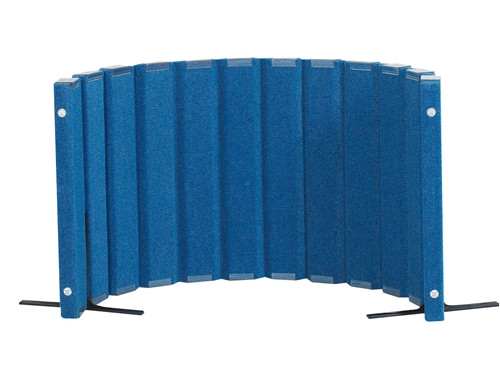 Sound Sponge Quiet Divider Wall With 2 Support Feet - 30 in. x 6 Ft.