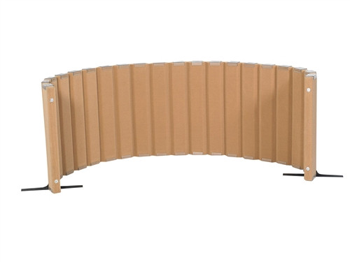 Sound Sponge Quiet Divider Wall With 2 Support Feet - 30 in. x 10 Ft.