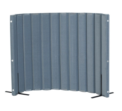 Sound Sponge Quiet Divider Wall With 2 Support Feet - 48 in. x 6 Ft.