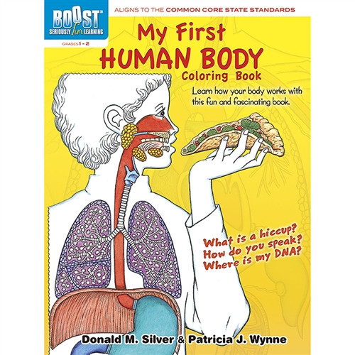 Boost My First Human Body Coloring Book Grades 1-2