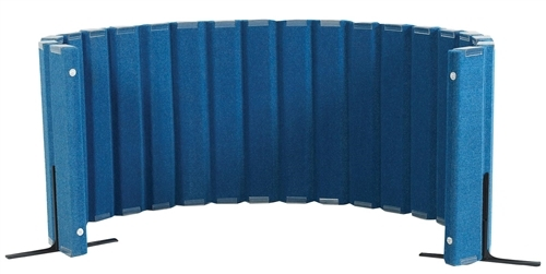 Sound Sponge Quiet Divider Wall With 2 Support Feet - 48 in. x 10 Ft.