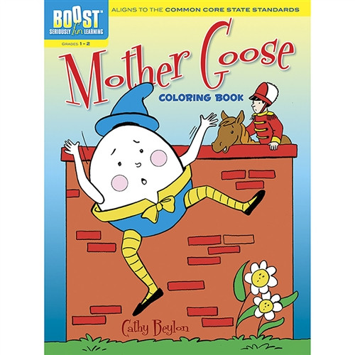 Boost Mother Goose Coloring Book GR 1-2