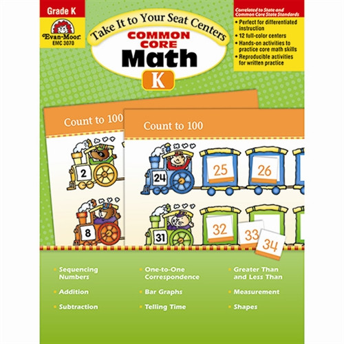 Take It To Your Seat Math Centers Gr K