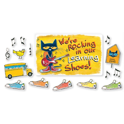 Were Rocking In Our Learning Shoes  Bulletin Board Sets