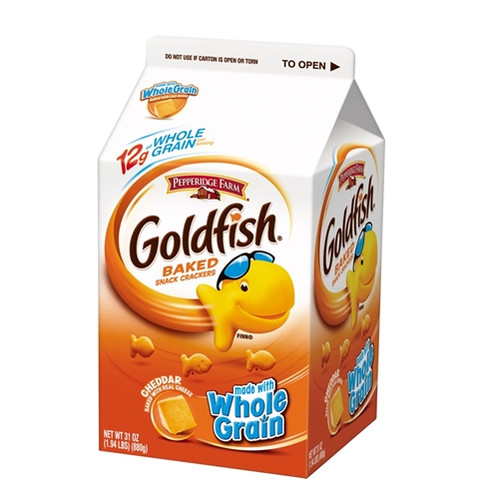 Cheddar Goldfish Whole Grain Baked Snack