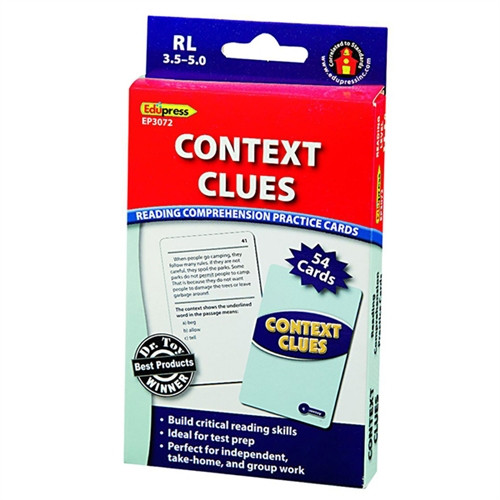 Context Clues - 3.5 in. x 5.5 in.