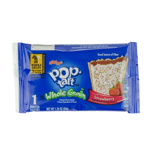 Pop-Tarts Frosted Strawberry Pastry-1.76 oz. Pack