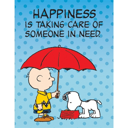 Peanuts Someone In Need Poster - 17 in. x 22 in.