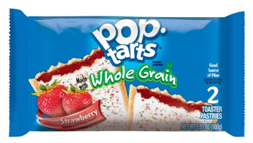 Pop-Tarts Frosted Strawberry Pastry-3.52 oz. Pack