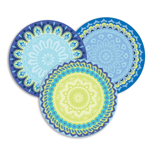 Blue Harmony Paper Cut Outs