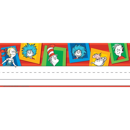 Dr Seuss Standard Tented Name Plates - 9.63 in. x 6.5 in.