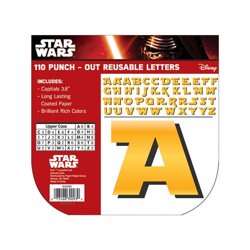 Star Wars Deco Letters - 4 in.