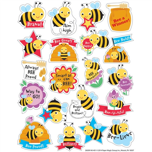 Honey Scented Stickers - 1 in.