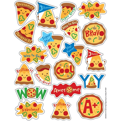 Pizza Scented Stickers - 1 in.