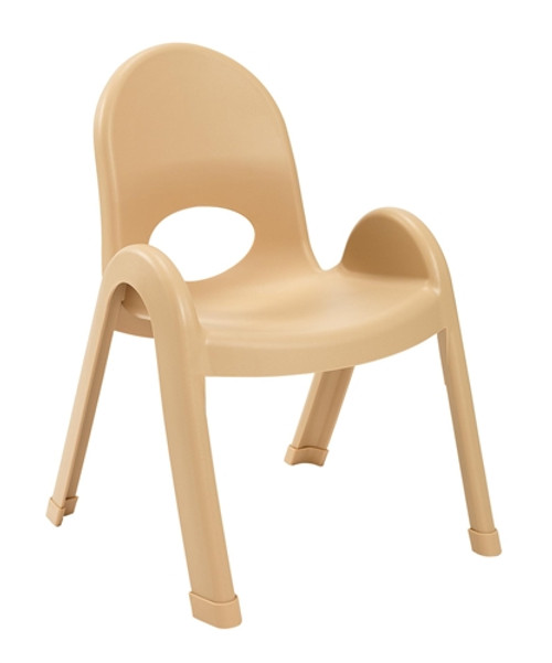 Value Stack Child Chair Natural Tan - 11 in.