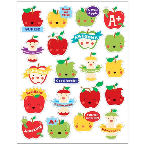 Apple Stickers Scented - 1 in.