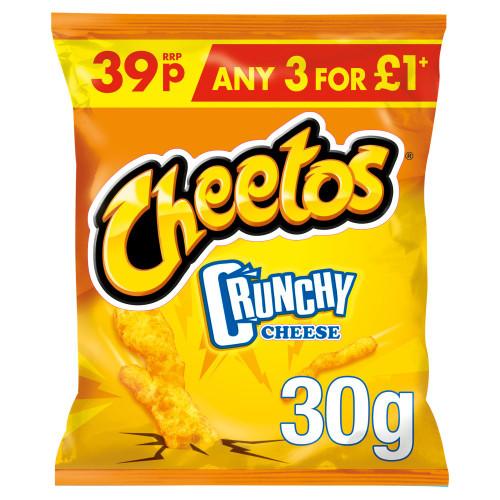 Cheetos Crunchy Cheese Snacks 30g 30 Pack