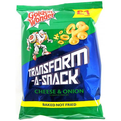Transform A Snack Cheese & Onion £1 15 X 80G
