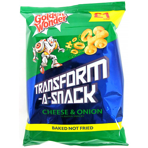 Transform A Snack Cheese & Onion 80g 15 Bags
