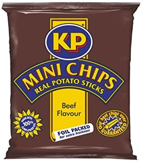 Kp Beef Flavour Mini Chips 33g 48 Pack