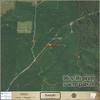 Example of a 36x36 Aerial Property Map 5 acre parcel