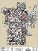 Humphreys County Mississippi 2018 Wall Map