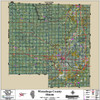 Winnebago-Boone Counties Illinois 2016 Aerial Wall Map