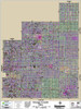 Geauga County Ohio 2018 Aerial Wall Map