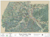Ross County Ohio 2018 Aerial Wall Map