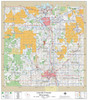 Lincoln County Wisconsin 2019 Wall Map