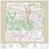 Madison County Missouri 2021 Wall Map