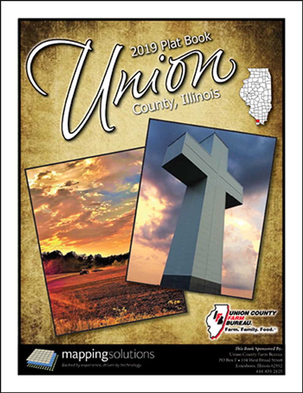 Union County Illinois 2019 Plat Book