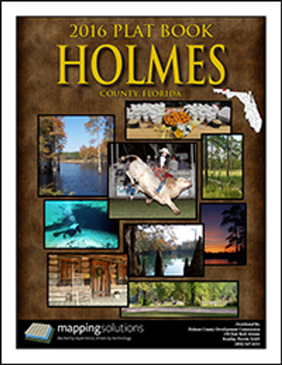 Florida Plat Maps.Holmes County Florida Plat Book 2016 Holmes County Parcel Map 2016